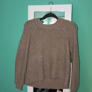 Aerie: Knit Light Pink Sweater